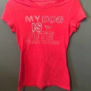 VS Pink Short Sleeve Tee Shirt